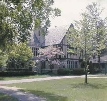 The Tudor facade