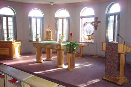 Sanctuary of the Main Chapel